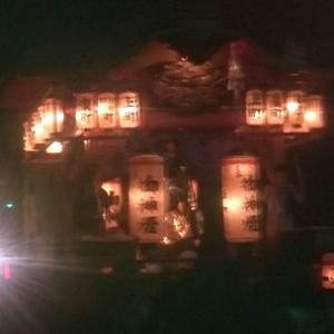 日吉神社祭典宵祭