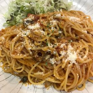 トマトソーススパゲティー ~銀座7丁目 喫茶リーフ
