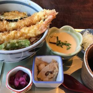 ミニ天丼と蕎麦 ~ 銀座 松玄凛