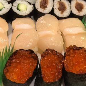 かっぱ巻きと干瓢巻き ~ 千代田寿司