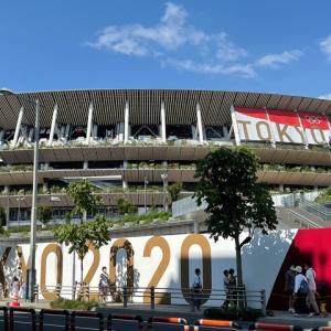 米寿と国立競技場見学