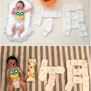 息子0歳最後の1カ月。あれ?あなたは懐かしの…