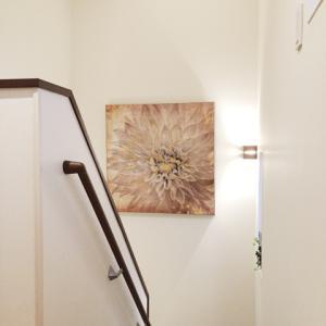 階段のアートパネル