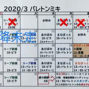 2/28【休講中】