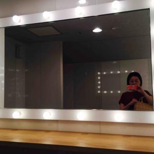 身近な所にもキレイにしてくれる魔法の鏡が♪