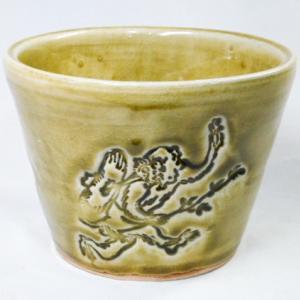 鳥獣戯画のフリーカップ
