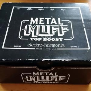 2020年11月17日(火)electro-harmonix METAL MUFF