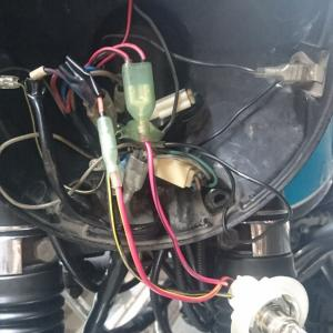 W1S-A ヘッドランプ交換(車検対応)