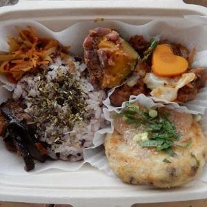 ご予約様 ご予算カスタマイズ仕様の お弁当 と 作り置き 小豆カボチャ
