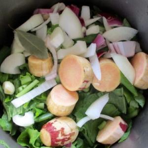 続いている野菜スープ