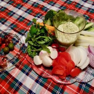 野菜いっぱい晩ごはん