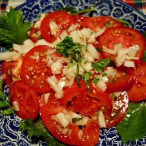 簡単トマトサラダ