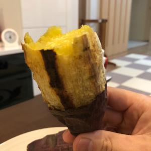 ラクッキングリルで超簡単。美味い焼き芋が出来る^^