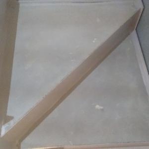 ステップ三角の段の型取り。