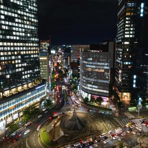 空中夜景 スカイストリート (名古屋市 中村区)