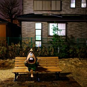 やまびこのベンチ (鬼太郎ひろば/東京都 調布市)