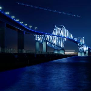 空と海のライン (東京ゲートブリッジ/東京都 江東区)