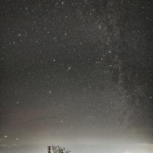 高原の夜 (高ボッチ高原/長野県 岡谷市)