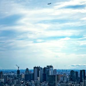 秋の新宿の空高く (サンシャシン60/東京都 豊島区)