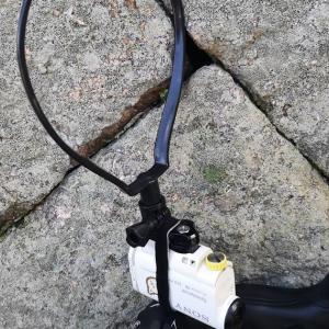 蓬莱峡ヒルクライムでカメラのネックマウントをテストする! そう、危険な暑さの中で。