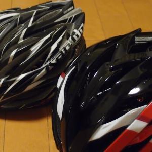 なにはなくともヘルメットですよ。今回は LAZER。インプレは無意味と思いますが、ひとつだけ。