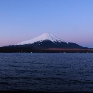 2020年2/18~冬の紅富士