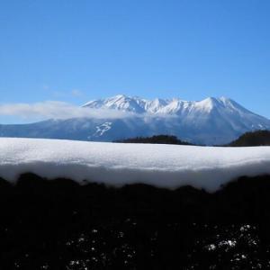 2020年12/23~御嶽山と夕焼け