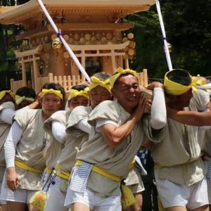 令和元年7/23~水無神社~みこしまくりー⑤