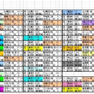 2019 中日新聞杯 出馬表と分類表