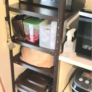 キッチン収納シンデレラフィット!