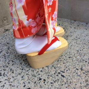 12月11日 子供のぽっくり 着物レンタル 夢京都 清水寺店