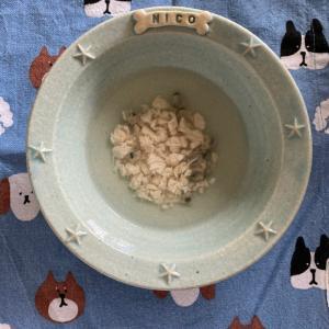 【ニコの手作り犬ごはん】9.7-9.8
