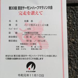 宮古サーモンハーフマラソン速報