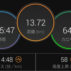 短縮14kmほど