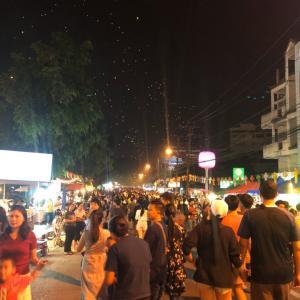 タイ、ロイクラトン祭り