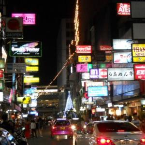 タイの日本人街タニヤ。タイ駐在日記