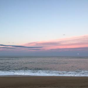 海へ満月をみてきた
