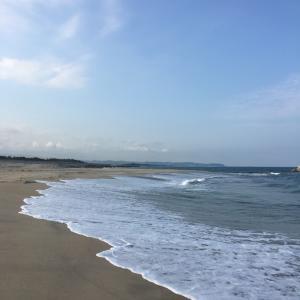 久しぶりに海に 新しい治療