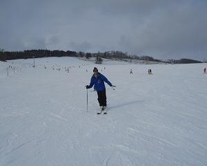 超久々のスキー!ゲレンデの貴公子降臨・・・奇行種じゃね?