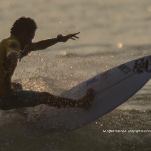 サーフィン世界大会の撮影依頼