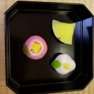 初冬の和菓子