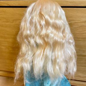 ボサボサになったエルサ人形の髪を洗ってみた