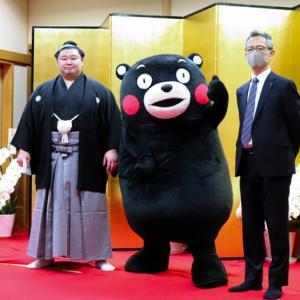 熊本県出身の力士、正代が優勝したら、そりゃうれしいよ