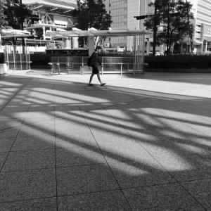 大阪・梅田の朝景