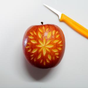 リベンジ~りんごのカービング