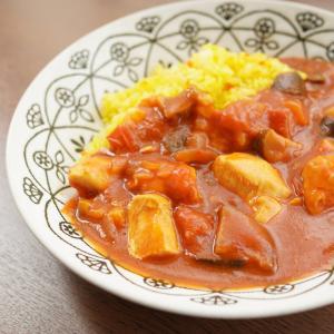 ある日昼食~トマトチキンカレー