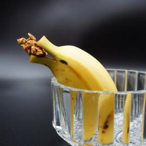 バナナアートもどき イルカ