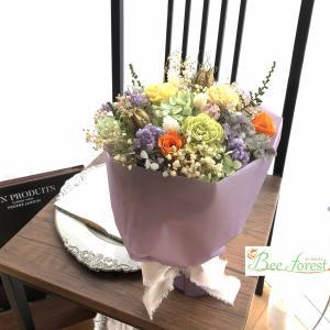 【プリザ】スタンド花束♪