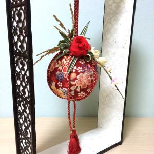 【プリザ】お正月飾り♪薬玉