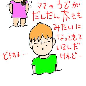 次男の「一言」!?&腹筋運動?(コロナ太り?)